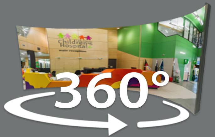 virtual tour - Queensland Childrens Hospital
