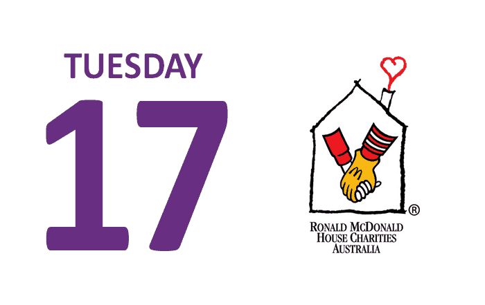 Tuesday 17 Ronald McDonald House