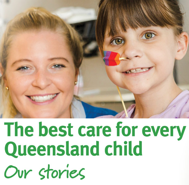 The best care for every Queensland child - Our stories