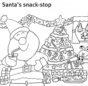 Christmas colouring and activity sheets | Children's ...