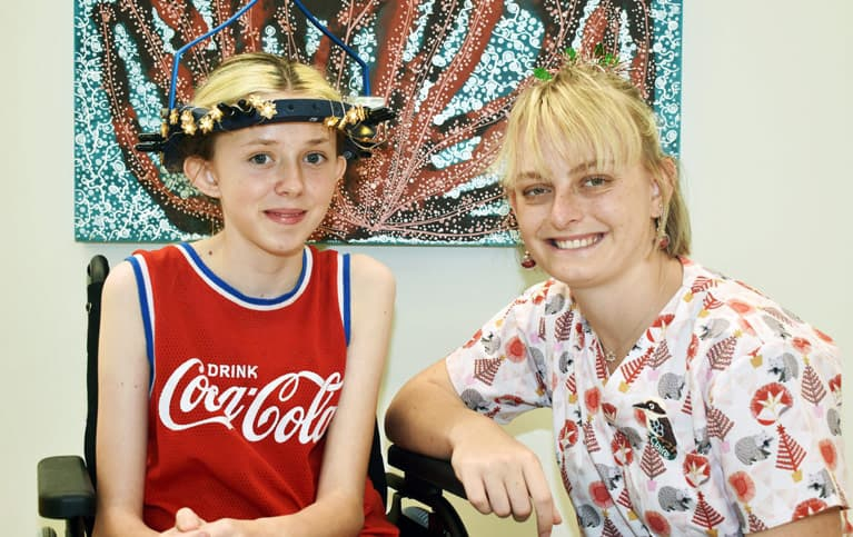 QCH Ward 12a opening Jade and Claire