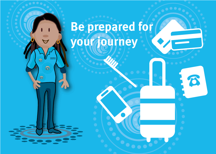 Be prepared for your journey