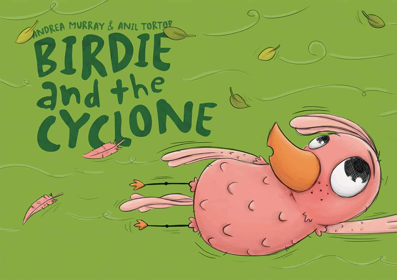 Birdie and the cyclone