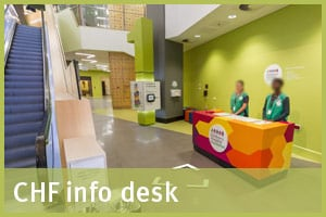 Childrens Hospital Foundation info desk