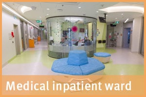 Medical inpatient ward