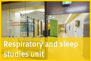 Respiratory and sleep studies unit