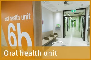 Oral health unit