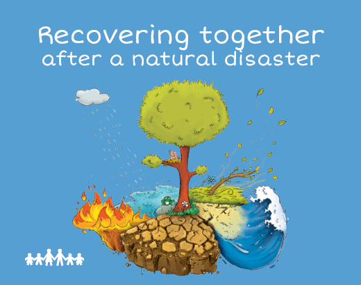Recovering together after a natural disaster